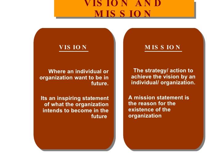 ما هي الـ Vision وما فرقها عن Mission